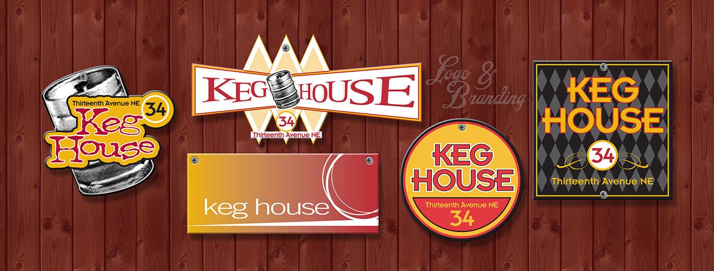 Keg House Branding