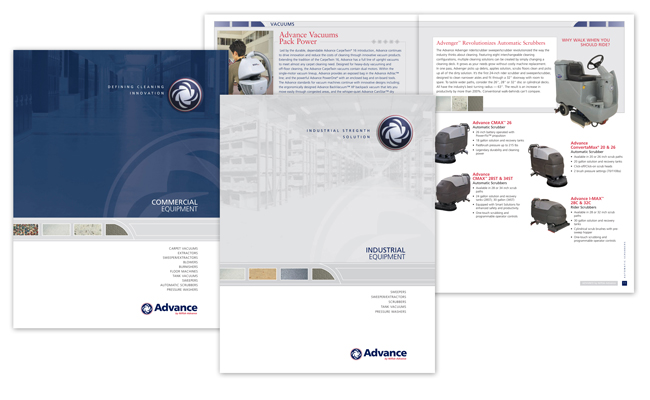 Nilfisk Advance Collateral | mpcreates