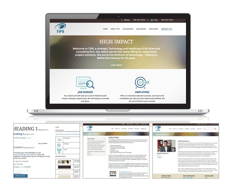 TIPS web design