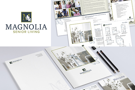 Magnolia Senior Living branding