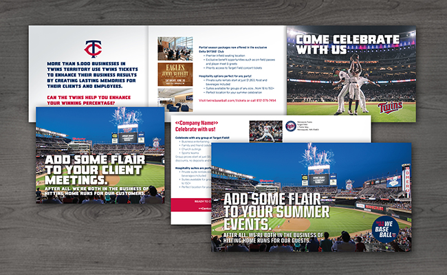 MN Twins Direct Mailer